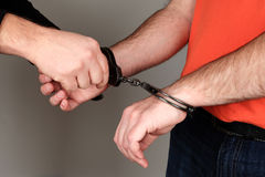 Handcuffed Stock Photography