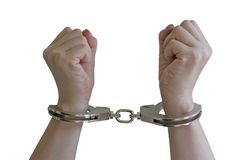 Handcuffs Stock Image