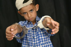 Handcuffs Stock Photo