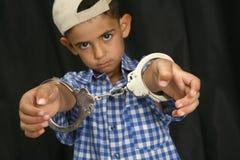 Handcuffs stock foto