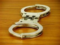 Handcuffs royalty-vrije stock foto's