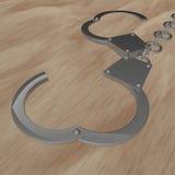 handcuffs Immagine Stock