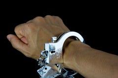 handcuffs Immagini Stock