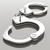 Handcuffs Stock Foto's