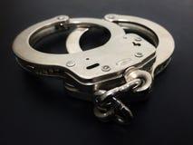 handcuffs Royalty-vrije Stock Afbeeldingen