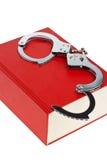 Handcuffs en Code Stock Foto's