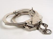 Handcuffs en Sleutel Royalty-vrije Stock Foto