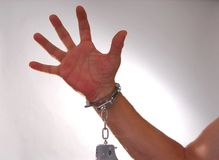 Handcuffs Four Royalty Free Stock Image