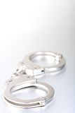 Handcuffs high-key Royalty Free Stock Photos