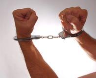Handcuffs Zes stock foto