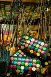 Handdicraft bag Stock Images