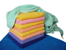 Handdoek Royalty-vrije Stock Fotografie