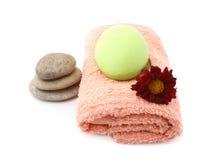 Handdoek Stock Foto