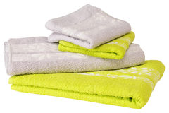 Handdoek. Geïsoleerdo royalty-vrije stock fotografie