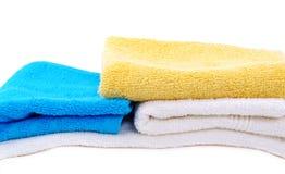 Handdoeken. Stock Afbeelding