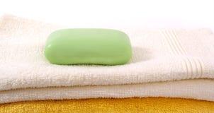 Handdoeken. Stock Foto's