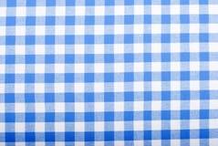 Handdoeken van de achtergrond de geruite doekkeuken Stock Afbeelding