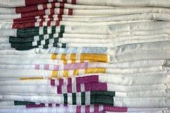 Handdoekpatroon stock afbeelding
