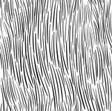 Handdrawn bezszwowy futerkowy tekstura wzoru wektor Obraz Royalty Free