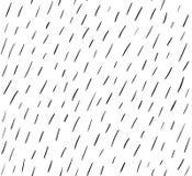 Handdrawn bezszwowy podeszczowy tekstura wzoru wektor Obraz Stock
