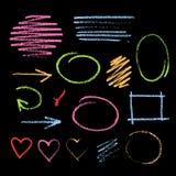 Handdrawn chalk sketch Royalty Free Stock Photos