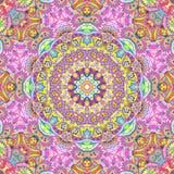 Handdrawn Kaleidoskop nahtlos Lizenzfreies Stockbild