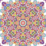 Handdrawn Kaleidoskop nahtlos Stockfotografie