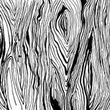 Handdrawnn grungy wooden texture. Black and white. Vector illustration Handdrawnn grungy wooden texture. Black and white Royalty Free Stock Photos