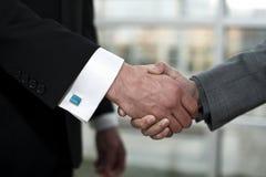 Handdruk de bedrijfs van de Overeenkomst Royalty-vrije Stock Afbeelding