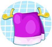 handduk stock illustrationer