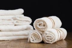 handduk för livstidsbrunnsort fortfarande - Bild royaltyfri fotografi