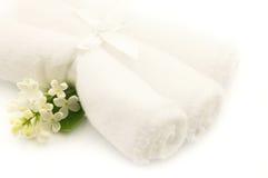 handdukar Royaltyfri Fotografi