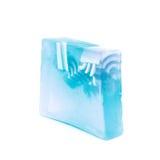 Hande做了被隔绝的肥皂 免版税图库摄影