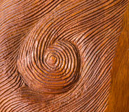 Handed Carved Whirl Red Wood Texture Background Royalty Free Stock Photos