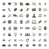 Handel elektroniczny ikony ustalony wektor Zdjęcie Royalty Free