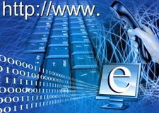 handel elektroniczny ilustracja Obrazy Stock