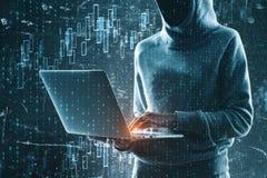 Handel en phishing concept stock afbeeldingen