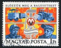Handel - fackligt emblem arkivfoton