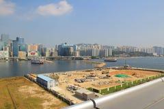 Handel, industrie en industriezone bij kwun tong Stock Fotografie