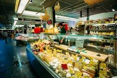 Handel in lokalen Hay Market Hotorget herein Lizenzfreie Stockfotografie