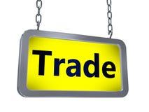 Handel na billboardzie ilustracja wektor