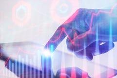 Handel und Vermittlerkonzept lizenzfreie stockfotografie