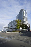 handel vancouver för Kanada center regelställe Royaltyfri Foto