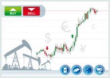 Handelachtergrond Stock Foto's