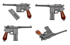 Handeldvapen Mauser M-72 Luftpistol Arkivfoto