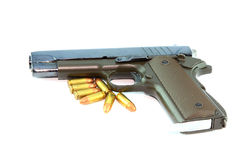 Handeldvapen och kulor Royaltyfri Fotografi