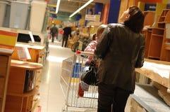 Handeln des Einkaufens Lizenzfreie Stockfotos