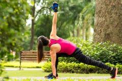 Handeln von Übungen Stockfotos