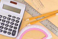 Handeln von Mathe Lizenzfreie Stockfotos