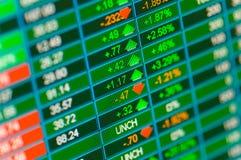 Handelnablagen Lizenzfreie Stockfotos